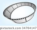 3D 電影 幻燈片 34764147