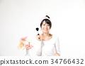 female, lady, woman 34766432