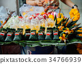 Religious offerings, Thailand 34766939