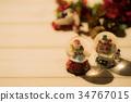 크리스마스, 눈사람, 스노우 34767015