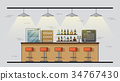 bar counter picture 34767430