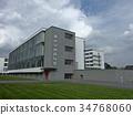 bauhaus school building, architecture, artistic 34768060