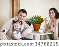 children, family, girl 34768215