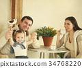 children, parents, family 34768220