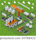 energy, factory, gas 34768422