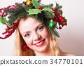 Stylish Christmas headdress 34770101