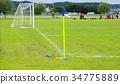 football, soccer, corner flag 34775889