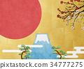 해돋이, 일출, 일본 34777275