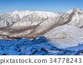 Mountains of back Nasu in winter 34778243