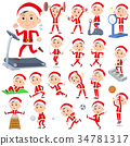 Santa Claus Costume dad_Sports & exercise 34781317