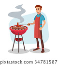grill, bbq, barbecue 34781587