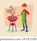 barbecue, bbq, grill 34781589