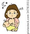 嬰兒 寶寶 寶貝 34781931