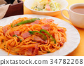 พาสต้า,อาหารอิตาเลียน,มะเขือเทศ 34782268