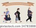 vector older woman 34783888