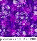 Christmas Seamless Background 34783906