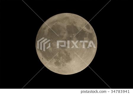 滿月 月亮 月 34783941