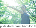 瑜伽普拉提健身女性運動 34784519