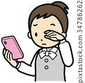 視疲勞 視覺疲勞 智能手機 34786262