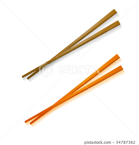 Traditional Colored Asian Chopsticks 34787362