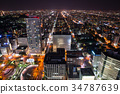 Sapporo City, Hokkaido Cityscape night view (from JR Tower Observatory) Taken in October 2017 34787639