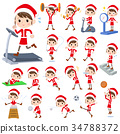 Santa Claus Costume mom_Sports & exercise 34788372