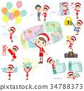 母亲 妈妈 圣诞老人 34788373