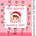 Santa Claus Costume mom_text box 34788374