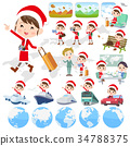 Santa Claus Costume mom_travel 34788375
