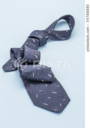 Dark blue tie 34788880