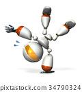 機器人 計算機圖形圖像 3DCG 34790324