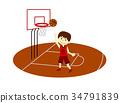 篮球 男孩 男孩们 34791839