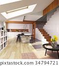 kitchen, modern, interior 34794721