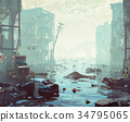 Apocalyptic landscape 34795065