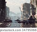 Apocalyptic landscape 34795066