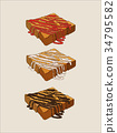 麵包 吐司 土司 34795582