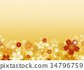 日式 花朵 花卉 34796759