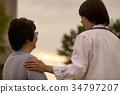 nursing, helper, caregiver 34797207