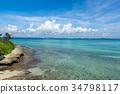 irabushima island, miyakojima, summer 34798117