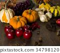 秋天 秋 收穫 34798120