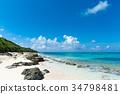 모래, 해변, 바다 34798481