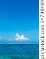 미야코지마, 푸른 하늘, 풍경 34798489