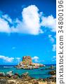伊平屋岛 海洋 海 34800196