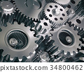 Engine gears wheels and cogwheels 34800462