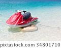 摩托艇 海 大海 34801710