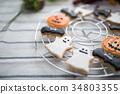 萬聖節 餅乾 結冰 34803355