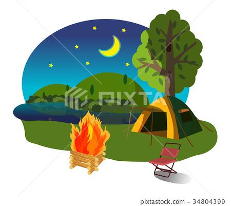Camp fire 34804399