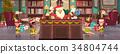 christmas, concept, interior 34804744