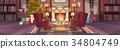 christmas, new, room 34804749