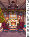 christmas concept interior 34804752